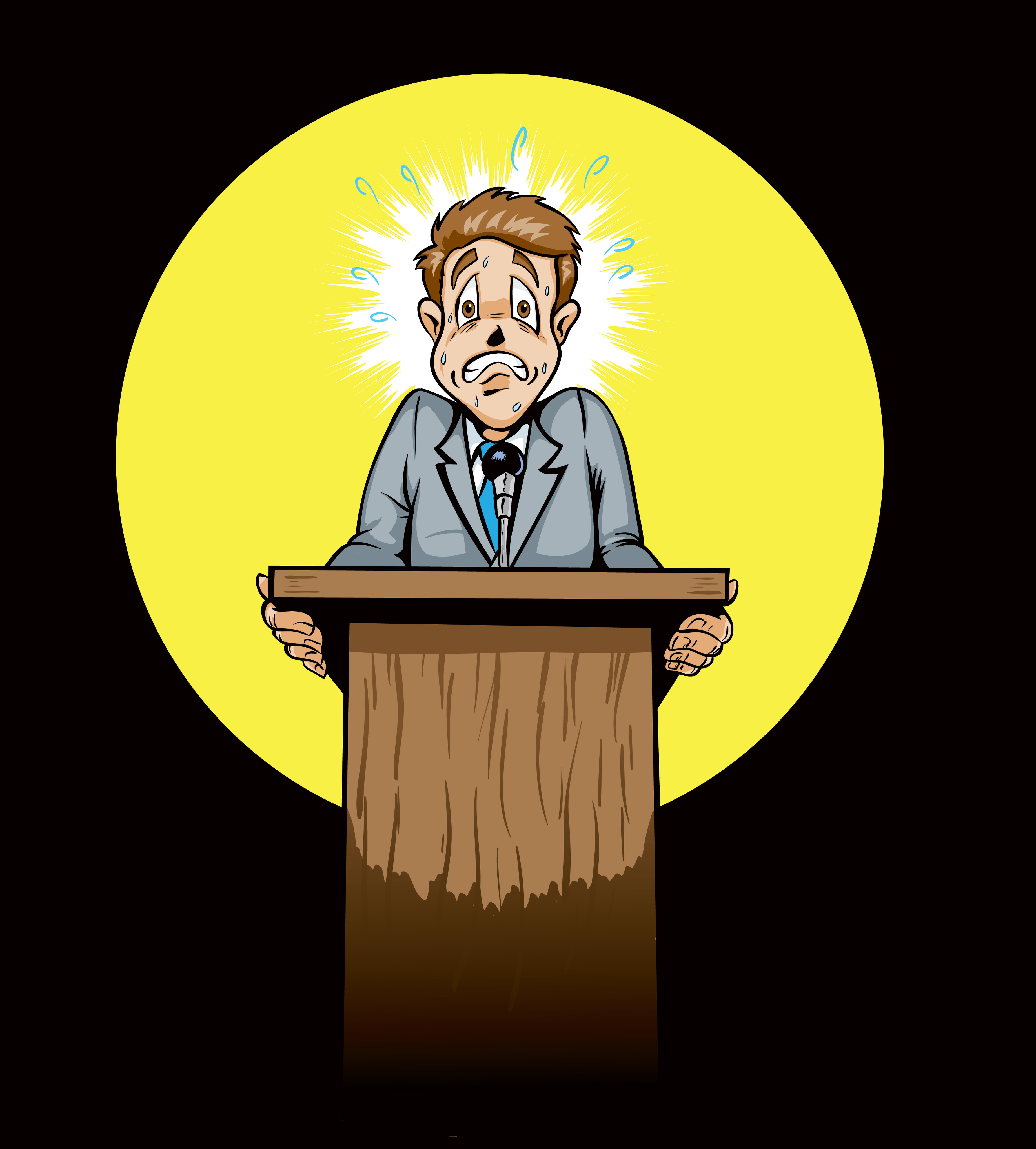 Image result for anxiety public speaking