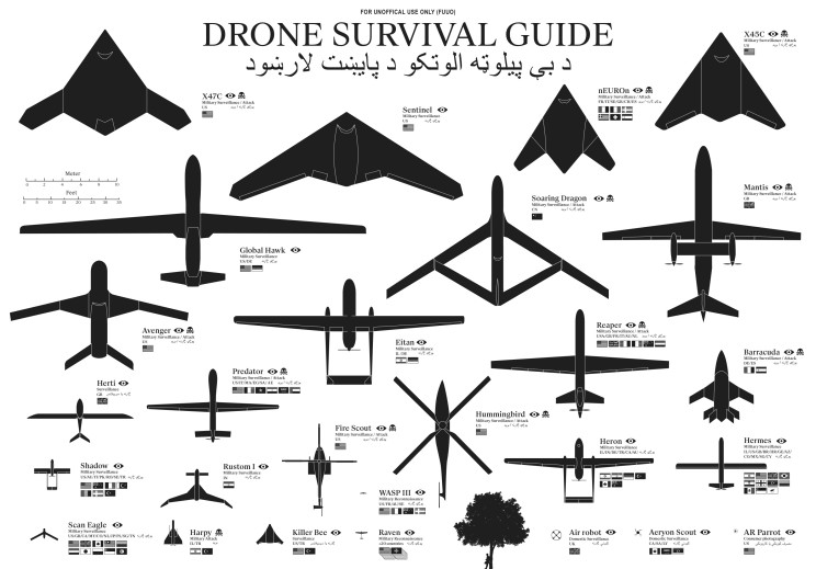 The Drone Survival Guide [infographic]