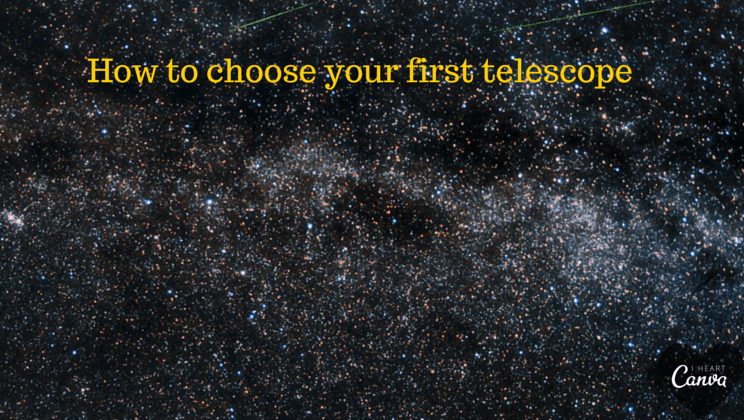 Telescopes: beginner's guide to buying the one right for you.