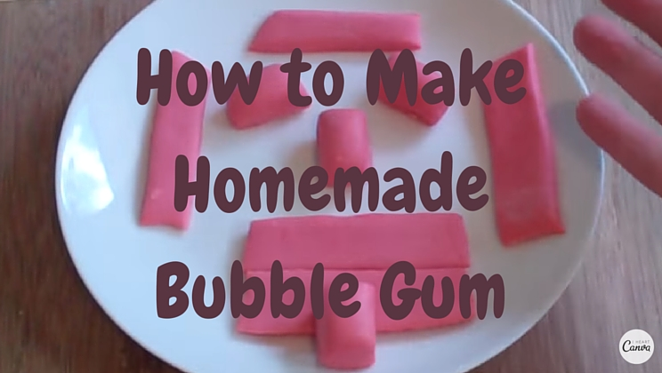 How To Make Homemade Bubble Gum Video Alltop Viral