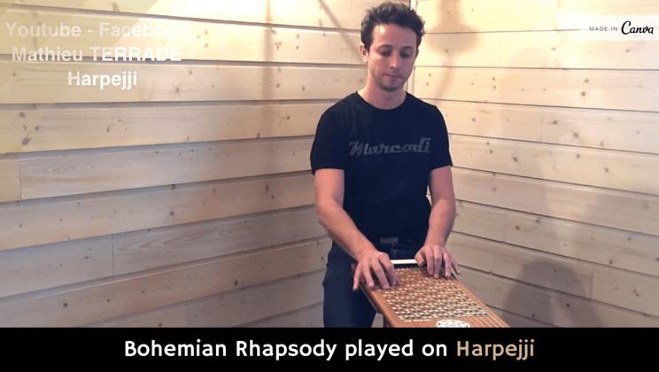 Bohemian Rhapsody played on Harpejji [video] - Alltop Viral