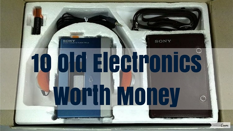 10 Old Electronics That Could Be Worth A Fortune