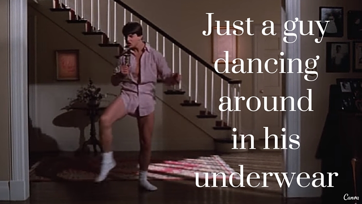 Classic Scene From Risky Business Stripped Of The Music