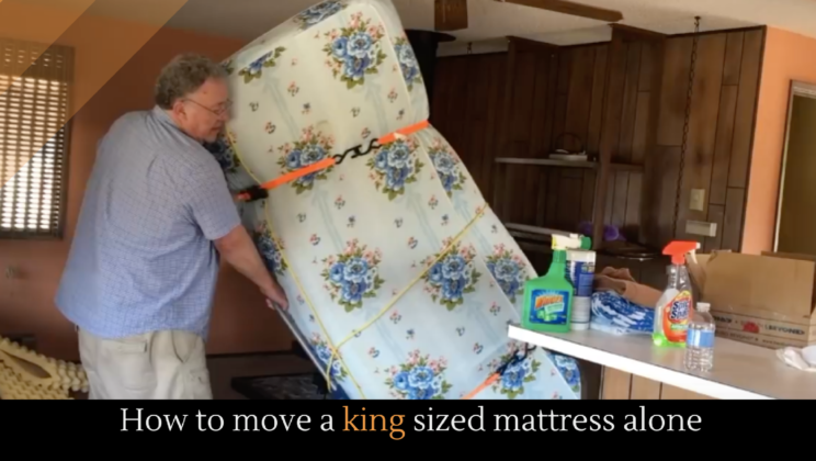How To Move A King Sized Mattress Alone Alltop Viral