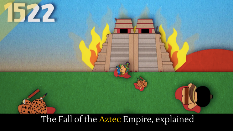 why did the aztec empire fall