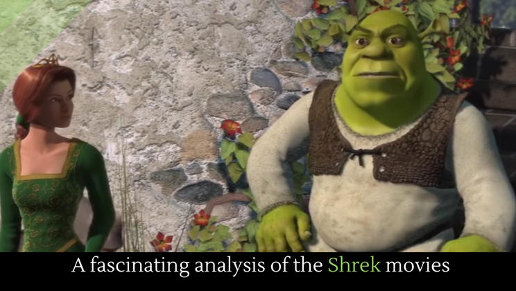 shrek movie analysis