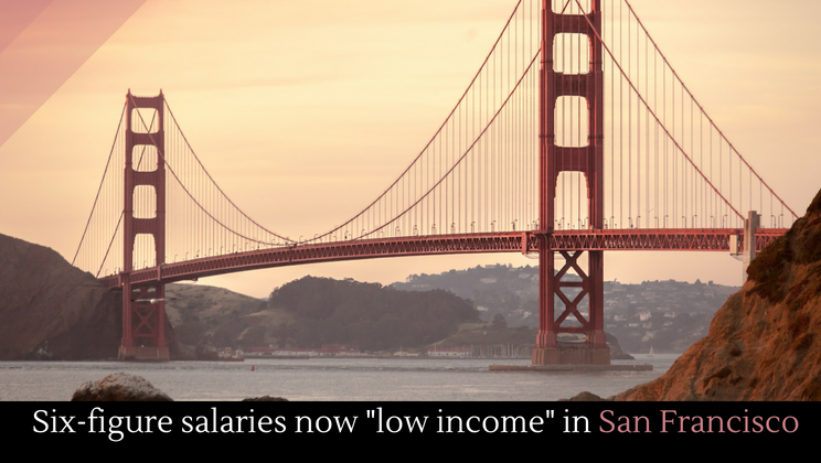 The San Francisco Bay Area Is Notoriously Expensive But Just How Expensive Can Be Hard To Grasp The Latest Statistics Are Revealing Just How Bad It Is