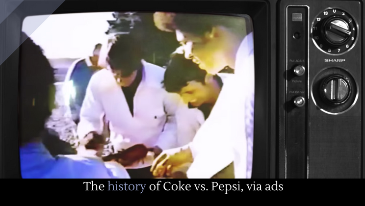 The history of Coke vs  Pepsi, via ads - Alltop Viral
