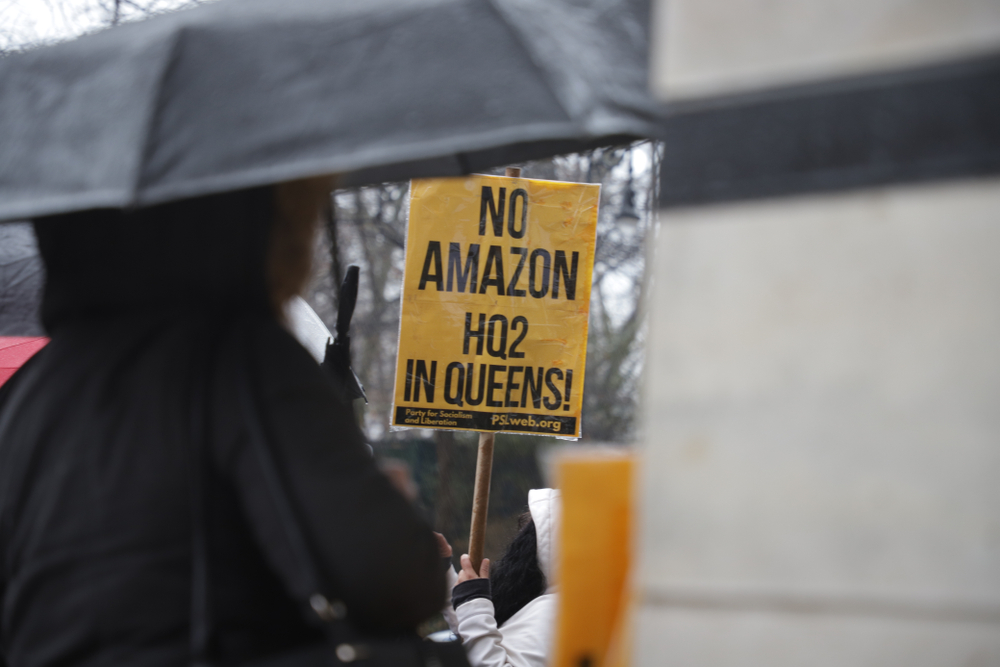 Opposition to Amazon Headquarters in NYC