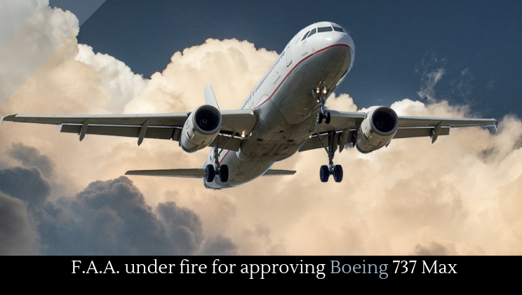 F A A  under fire for approving Boeing 737 Max - Alltop Viral