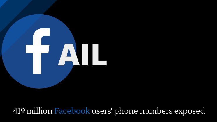 419 million Facebook users' phone numbers exposed - Alltop Viral